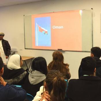 Marwan presenting
